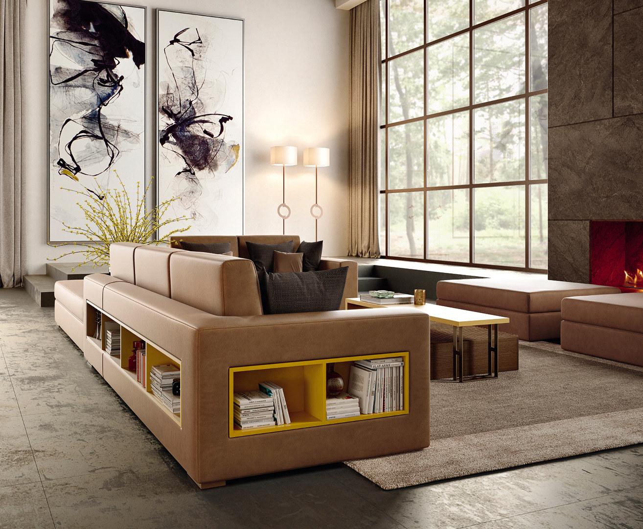 Concept design combination Vintage living area